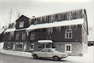 Archive and statistics station building in Põlva  similar photo