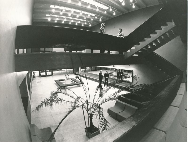 Photo. By the end of 1980, Tamsalu's new cultural house was completed.