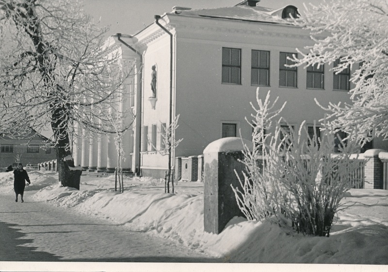 Photo, Viljandi Sports School, 1960, photo a. Kiisla