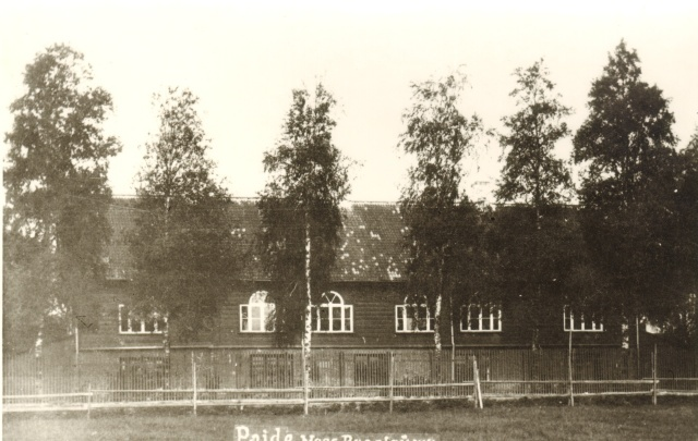 Photocopy, Järvamaa Man-Real Gymnasium in the early 1920s