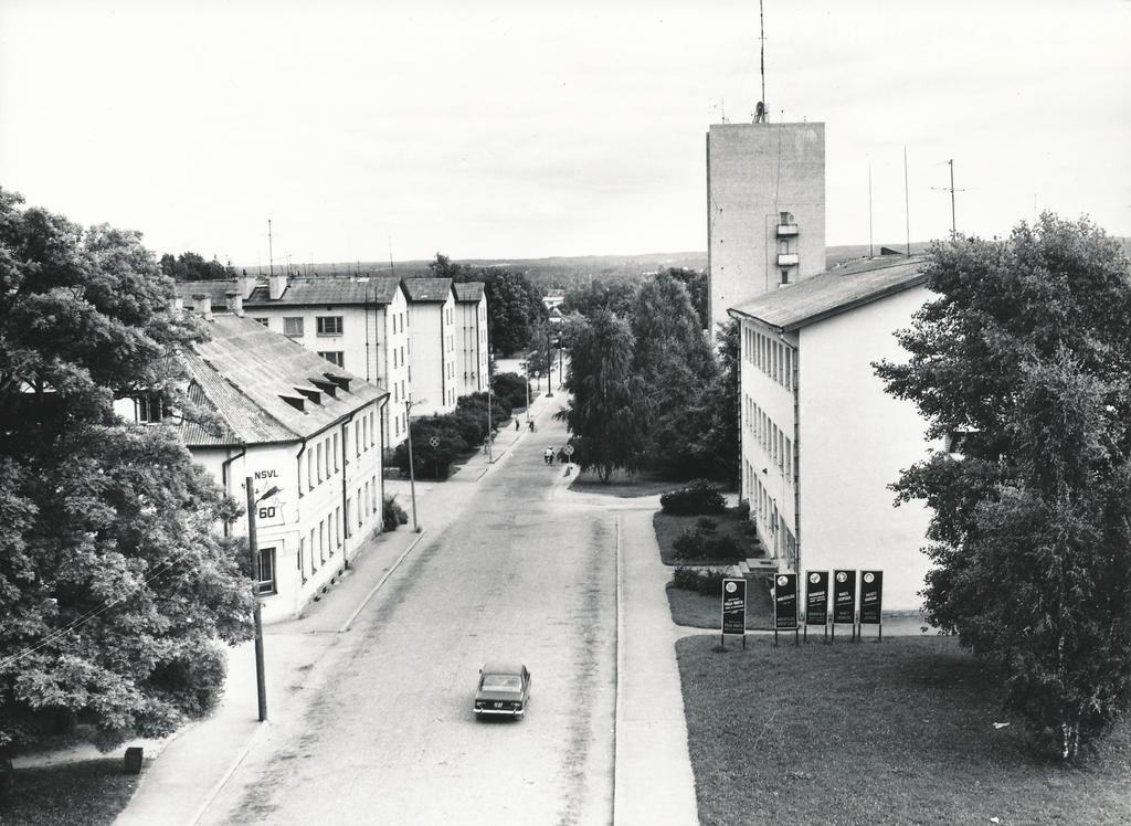Photo. Võru. Lembitu Street.