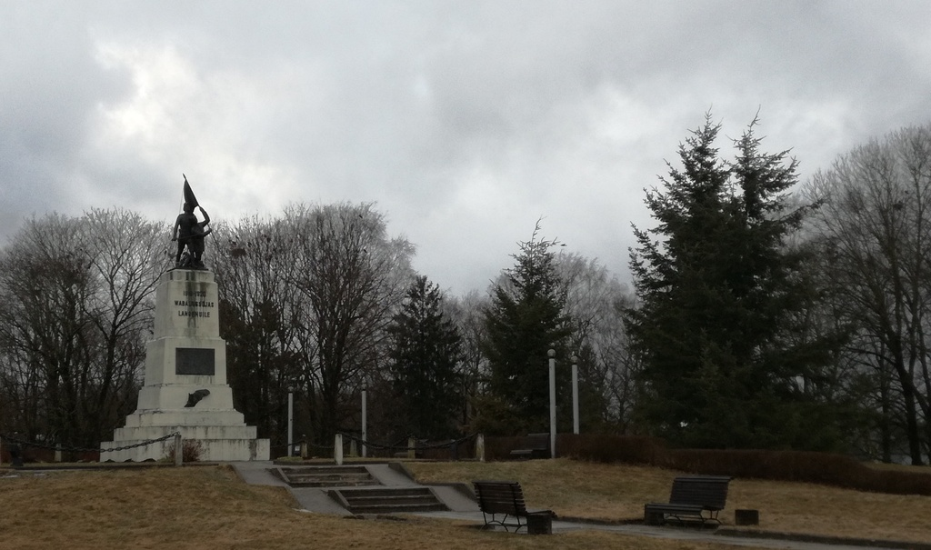 Monument for the fallen in the War of Independence in Rakvere rephoto