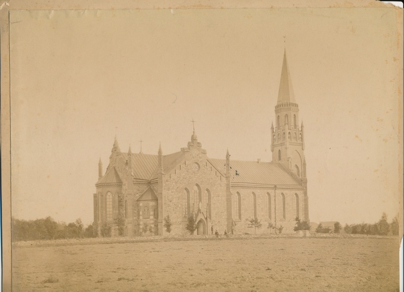 Photo Viljandi Paulus Church approx. 1880