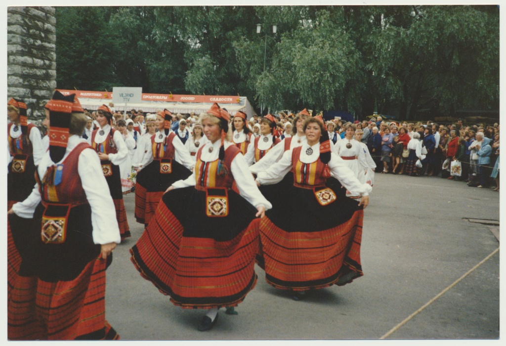 Colour photography, Tallinn, 20th song festival, 1985