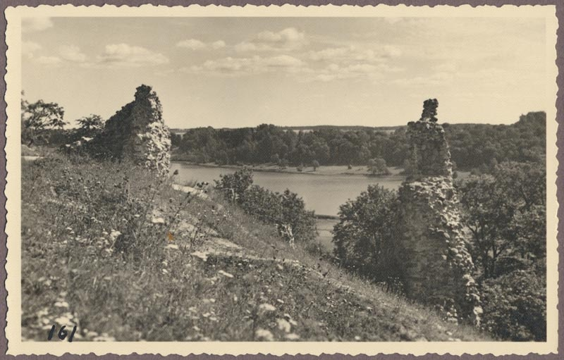 Photo, Viljandi, Kirsimägi II, lake, vastaskallas, approx. 1915