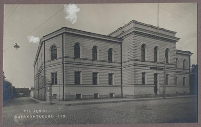 Photo, Viljandi, courthouse, Posti tn, approx. 1915  duplicate photo