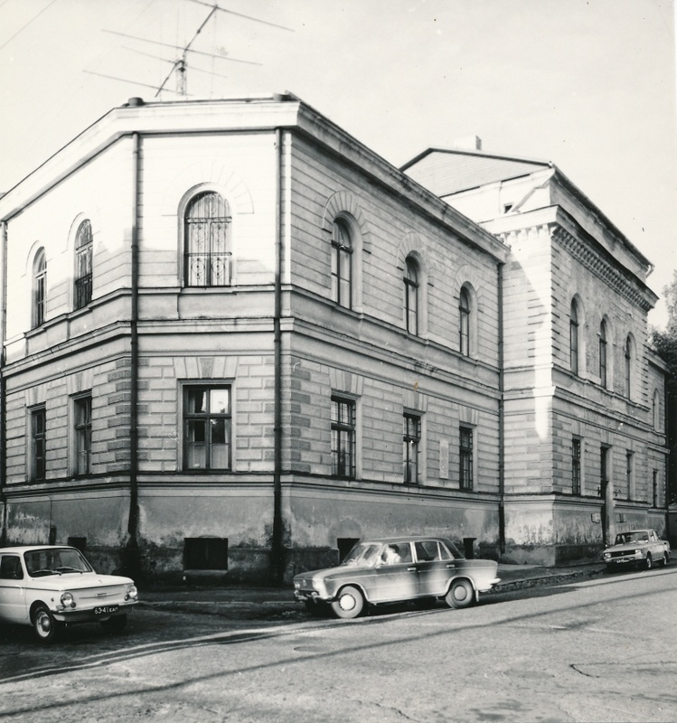 Photo, Viljandi courthouse Posti tn 22, 1977, photo e. Veliste