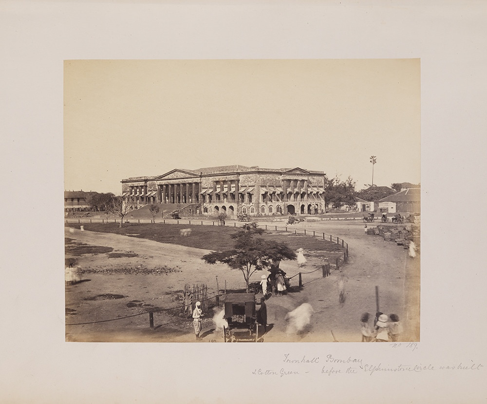 Town Hall Bombay & Cotton Green - before Elphinstone Circle was built.