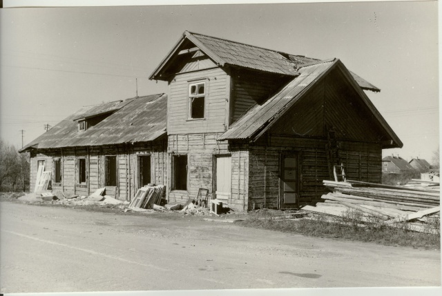 Photo Ambla view repair house 1987