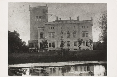 Alu Manor (Allo), castle 1904. Rapla khk  duplicate photo