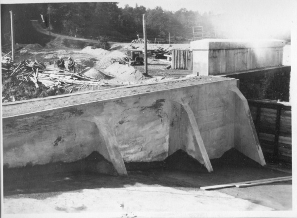 Photo Randvere bridge, construction 1929