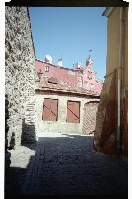 Laboratory Street in the Old Town of Tallinn