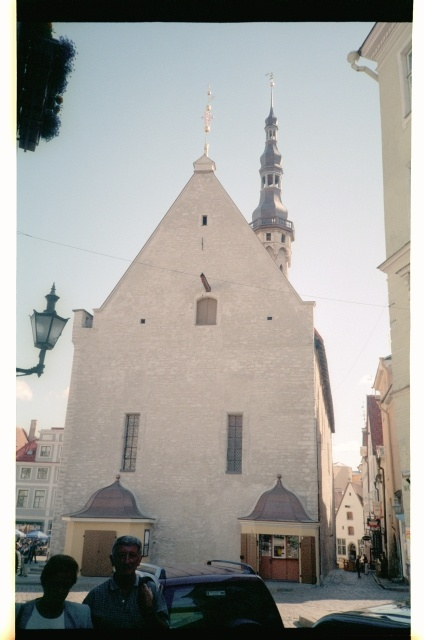 Rear side of the Tallinn House