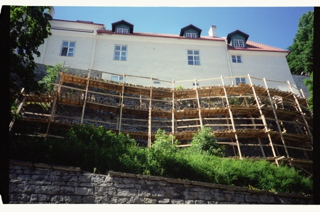 Renovation of the Toompea wall above the Pika foot street in Tallinn