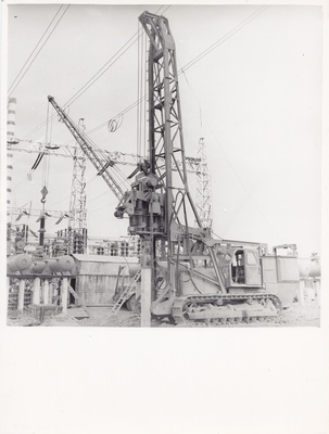 Construction of the open Estonian SEJ substation  duplicate photo