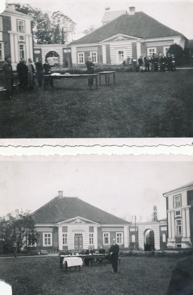Photo. Finishing Act at Väimela Farming School in 1930. A.