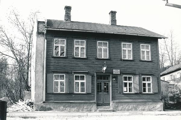 City view. Starvere tn 34 in Tartu 1992.