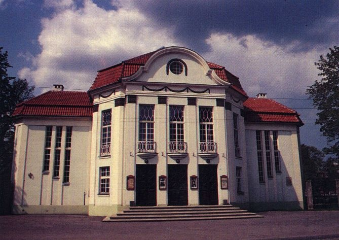 Vanemuise Theatre (so-called small Vanemuine; Vanemuise 45a). Tartu, 1990-1995. Photo Malev Toom.