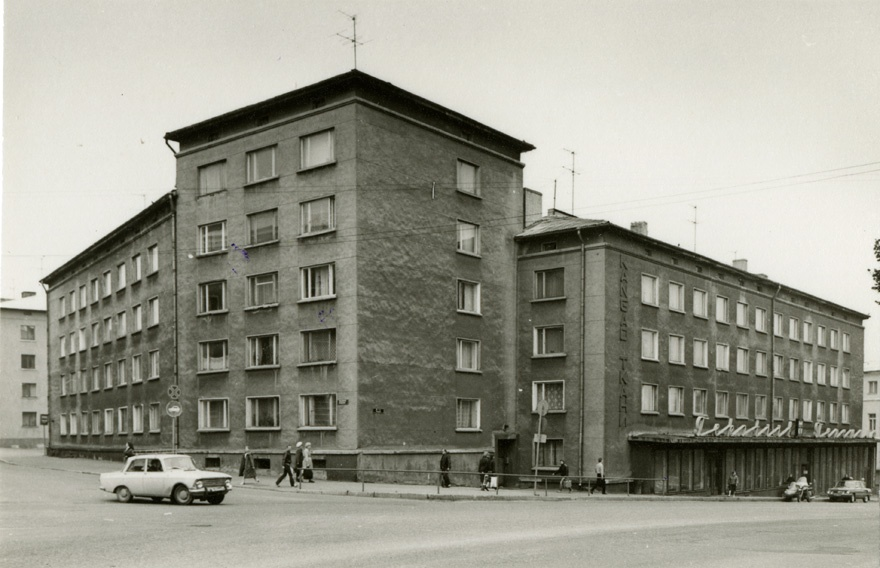 Apartment in Tartu, view of the building from the corner. Architect Raul-Levroit Kivi, EP