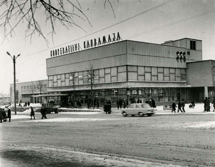 Tartu storehouse, view of the building. Architect Uno Sisa