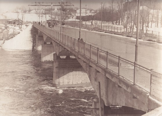 Narva bridge. 1961