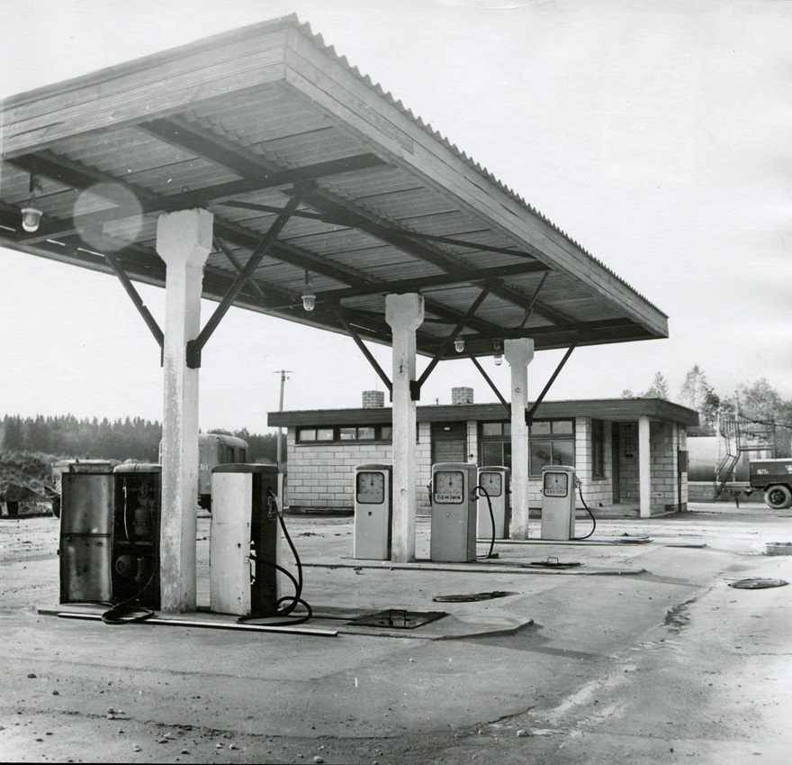 Gas station Abjas, general view