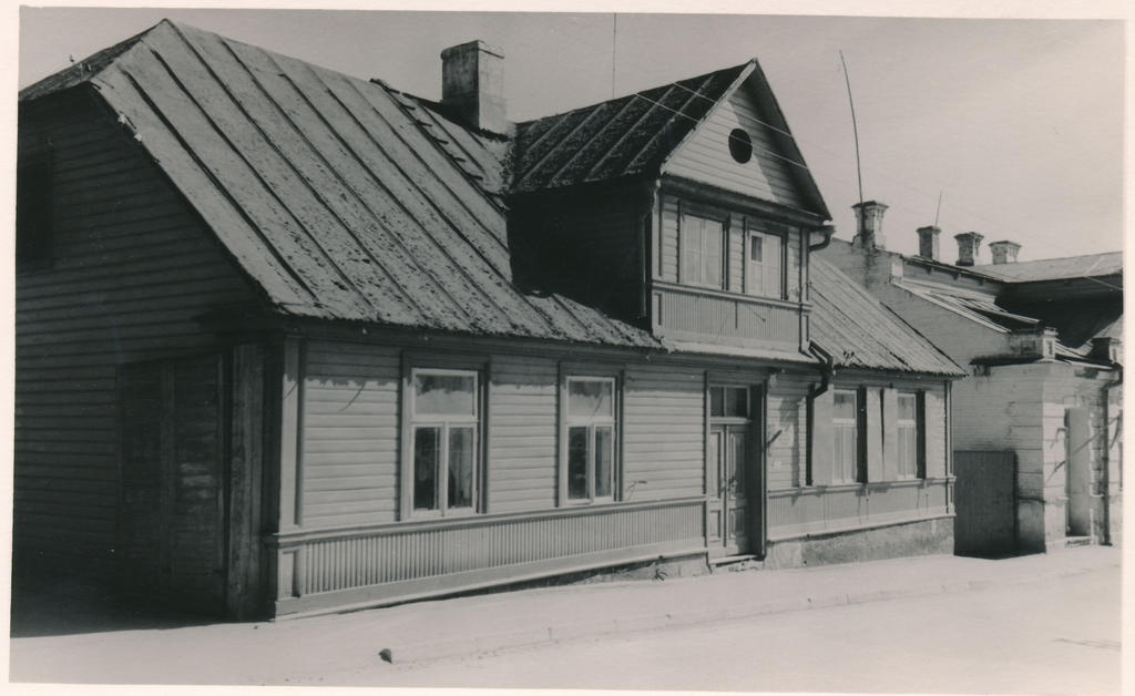 The house in Rakvere on Pikal Street