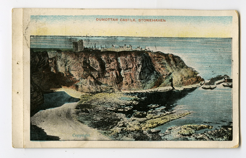 Dunottar'i kindlus Stonehaven'is