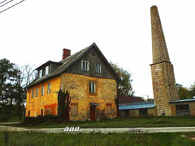 Koluvere Manor Wine Factory rephoto