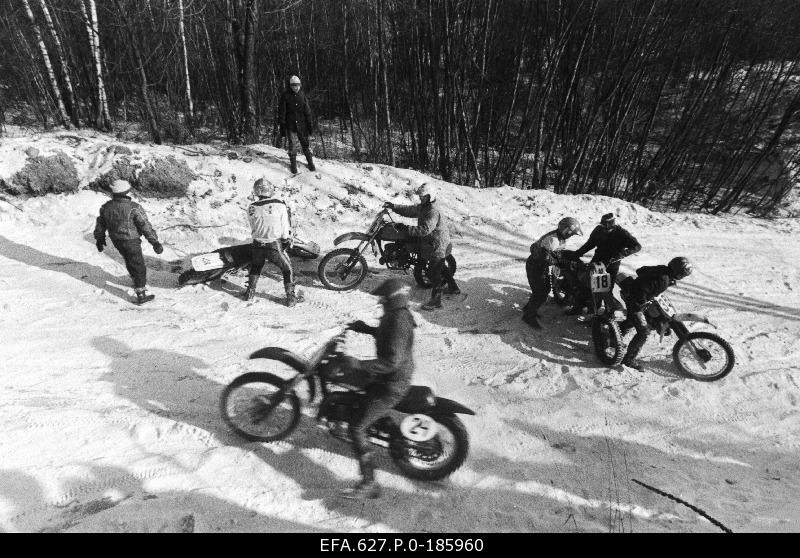 Motocross The Great Winter 1991 was located in the City Mountain.