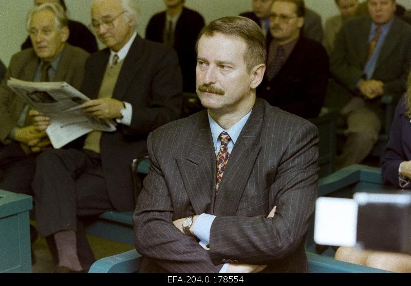 Siim Kallas, a Financier, was tried accused of ten million dollars in a deprivation transaction.