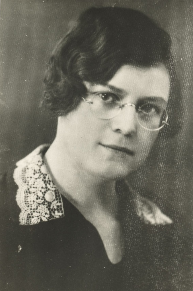 Jaan Kärner's second wife Hilda Kärner in 1930