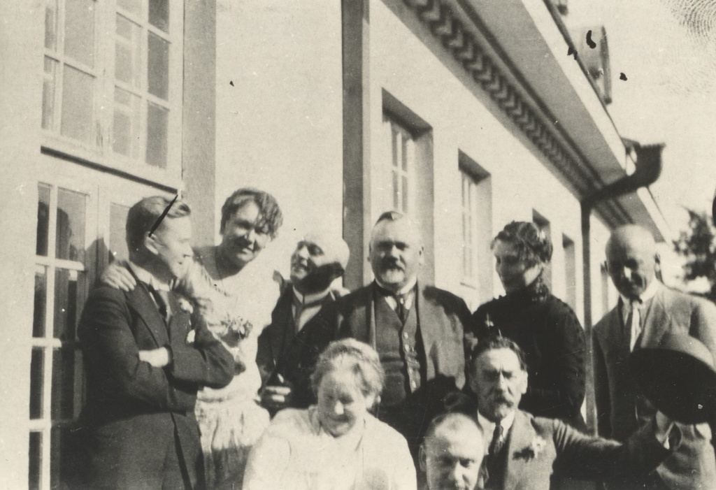 A. Kitzberg (I row right) among Ramotite, Rebaste, Saralite etc.