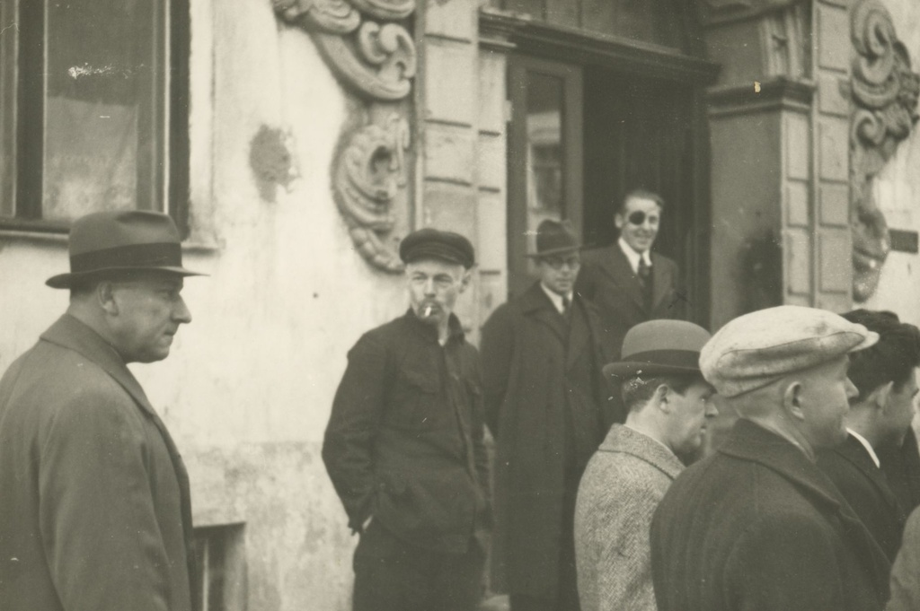 Writers on tour in 1938