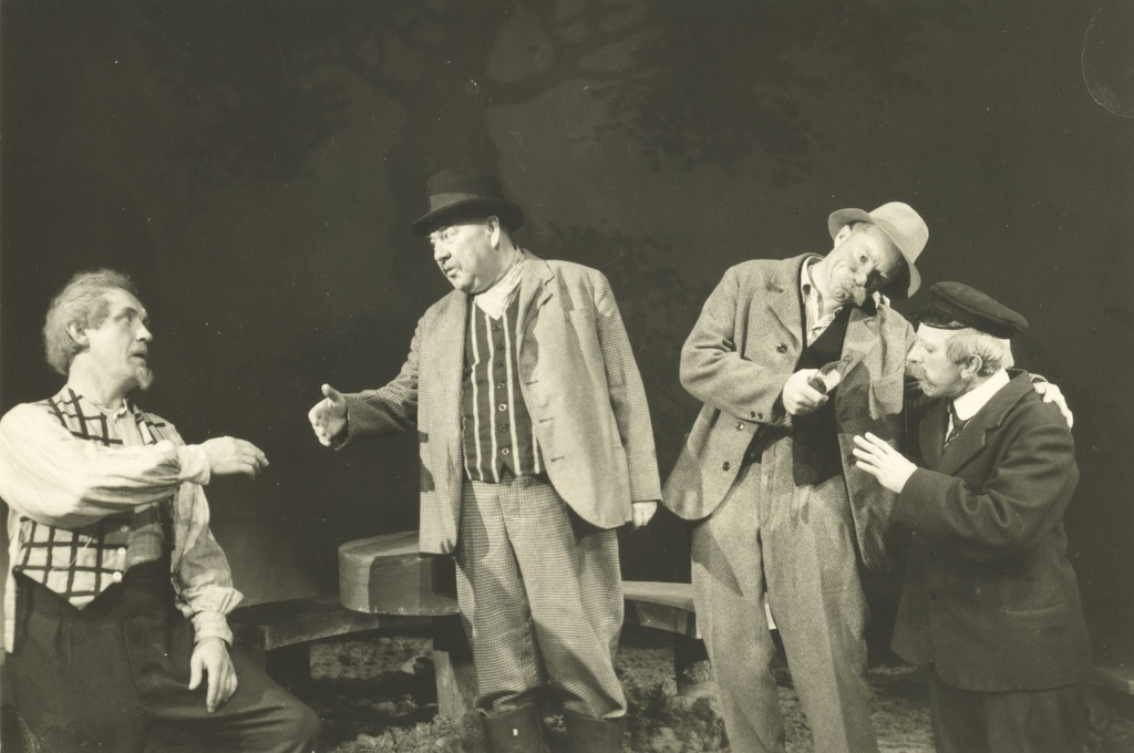 "A. Kitzberg's ""Rätsep Oil"" in Small Theatre 1943/44"