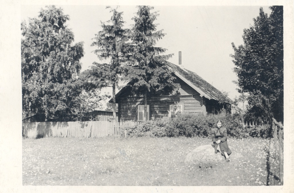Otto Münther's last residence in Aluperes 1956