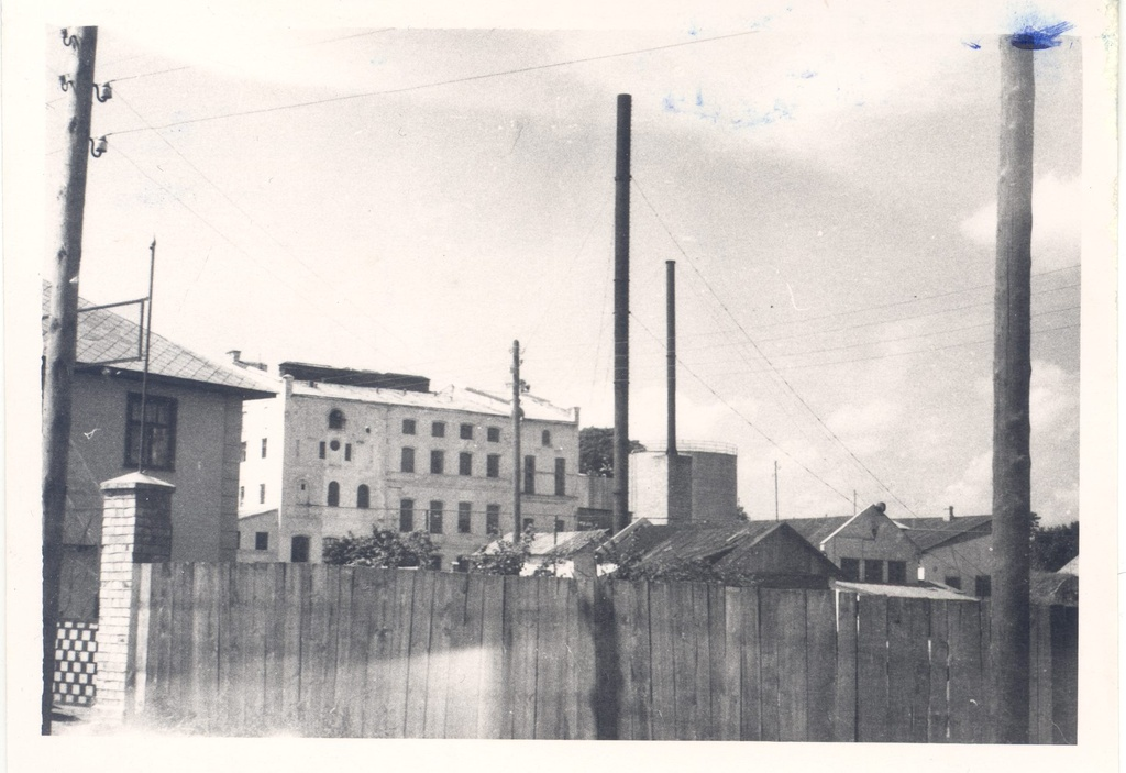 Kalkuni finite factory in 1961