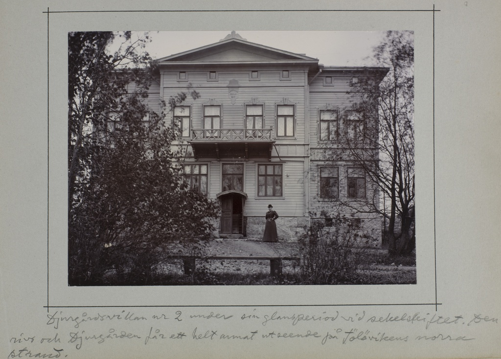 Zoo villa 2. The villa was owned by the widow Hanna Weilin.
