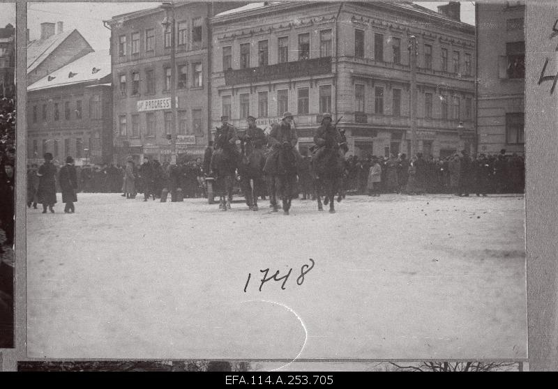 Arrival of German troops to Tartu.
