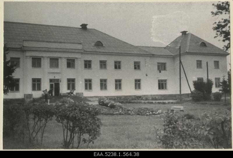 Front side of the main building of Valkla Manor