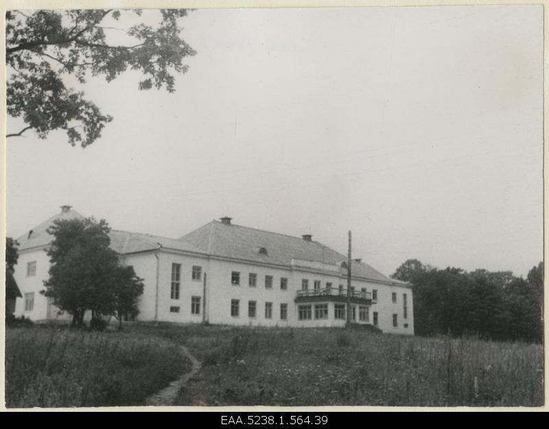 Rear side of the main building of Valkla Manor
