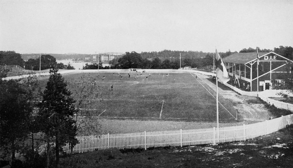 Traneberg 1912 - General view of the Traneberg athletic grounds, Stockholm