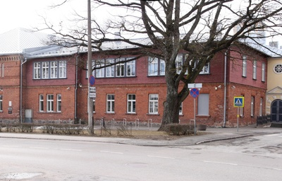 Wiljandi Estonian Society of Farmers and Gymnasium of Titus rephoto