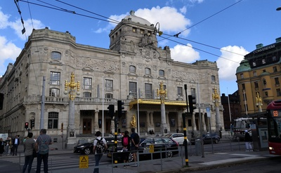 The Royal Dramatic Theatre in Stockholm, Sweden rephoto
