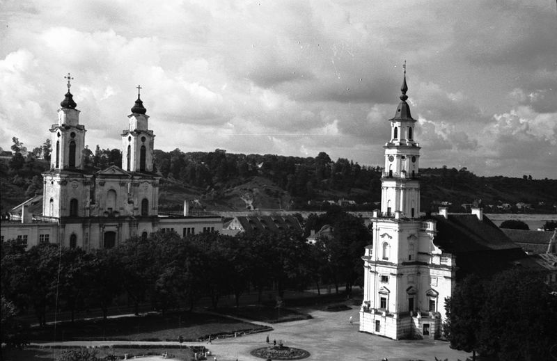 Panorama of Kaunas Old Town