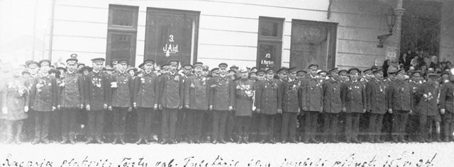 Firefighting 60th anniversary celebrations 15.06.1924. In Tartu on Raeplats