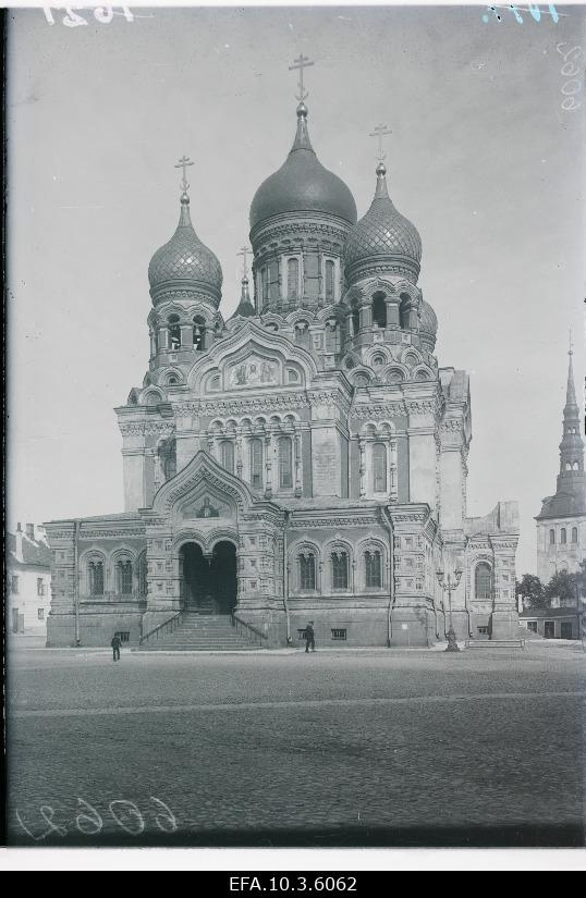 Aleksander Nevski Cathedral Toompeal (built in 1894-1900).
