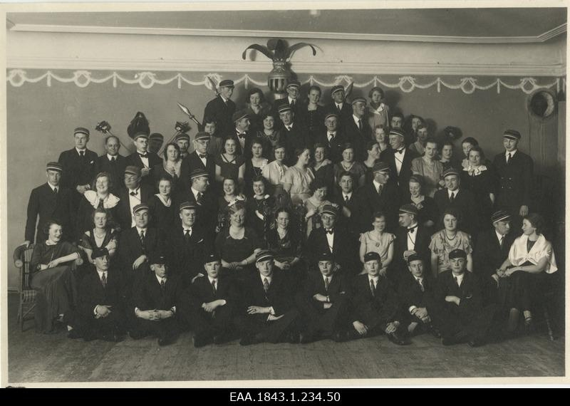 "Corporate ""Estonia"" ball in the convention building, group photo"