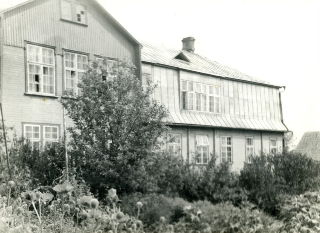 Old building of Jõgeva Secondary School