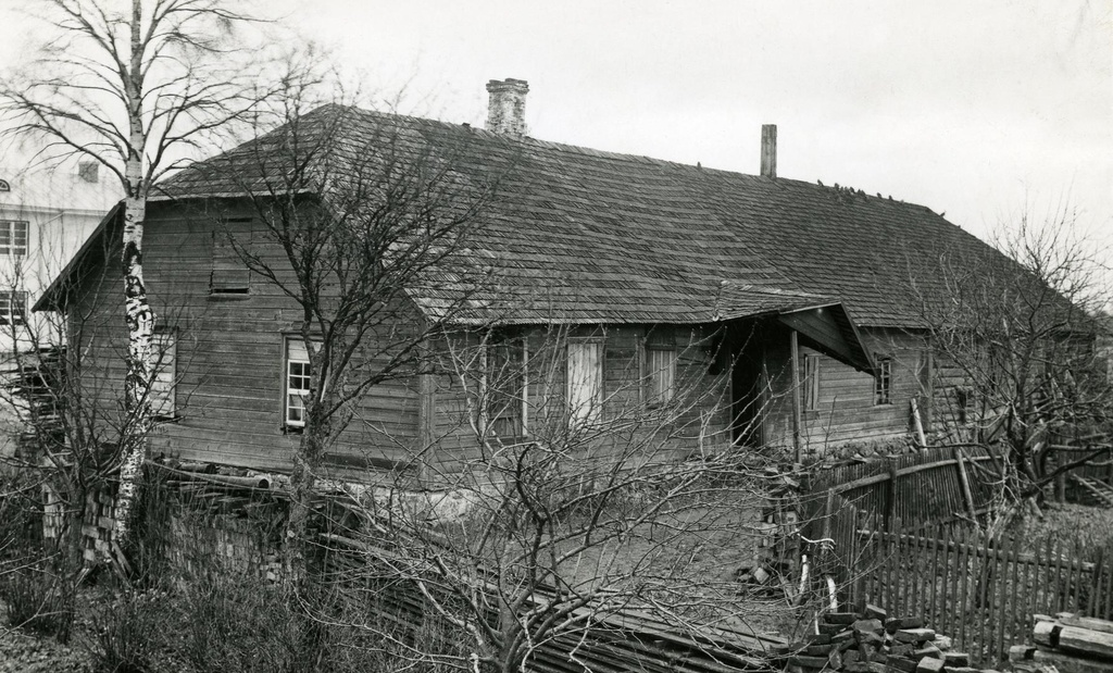 Kõo rural municipality Võhma village old school house
